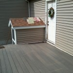 New Decking,Gray composite Decking