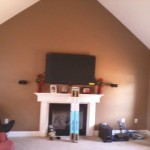 family room repaint