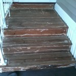 strip stairs/resurface