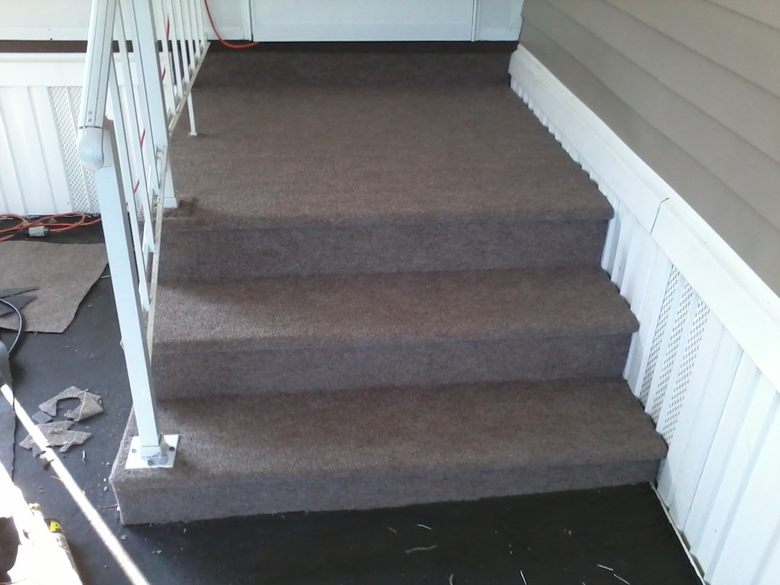 Outdoor carpet for concrete srs carpet vidalondon for Cleaning concrete steps